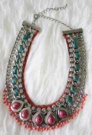 Red Indian Necklace