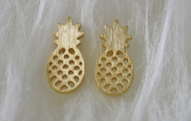Pineapple Earrings Gold