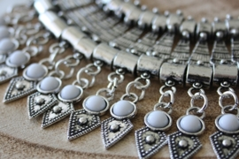 Bohemian White Necklace