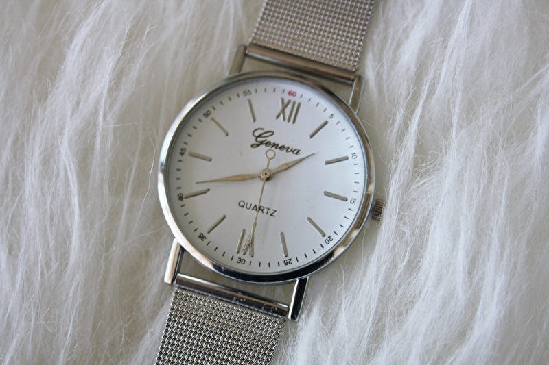 Silver Watch