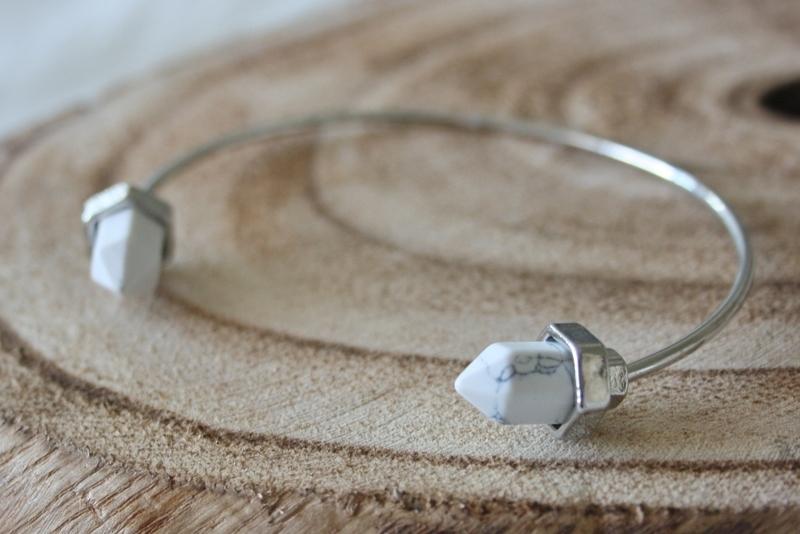 Silver Marmer Bracelet