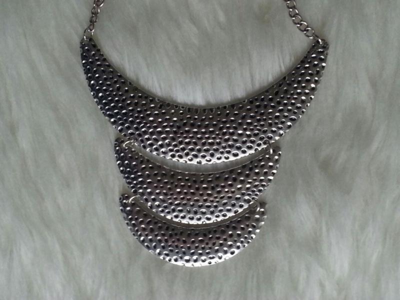 Silver Trio Necklace