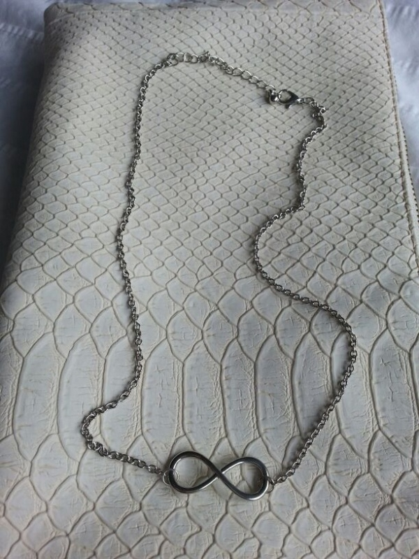 Gold/Silver/Black Infinity Necklace