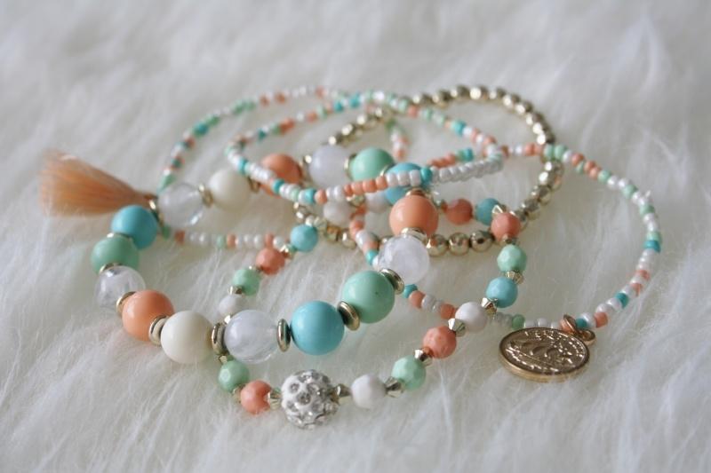 Pastel Bracelets Set
