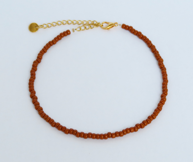 Rust Anklet
