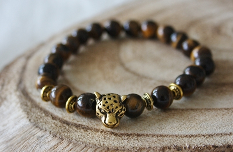 Tiger Brown Leopard Bracelet