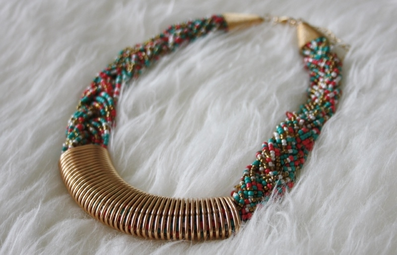 Disco Dip Necklace
