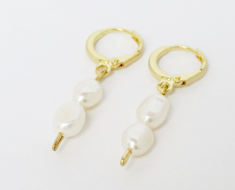 Double Pearl | Gold
