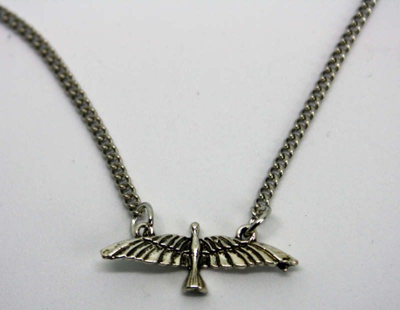 Bird Neclace Silver
