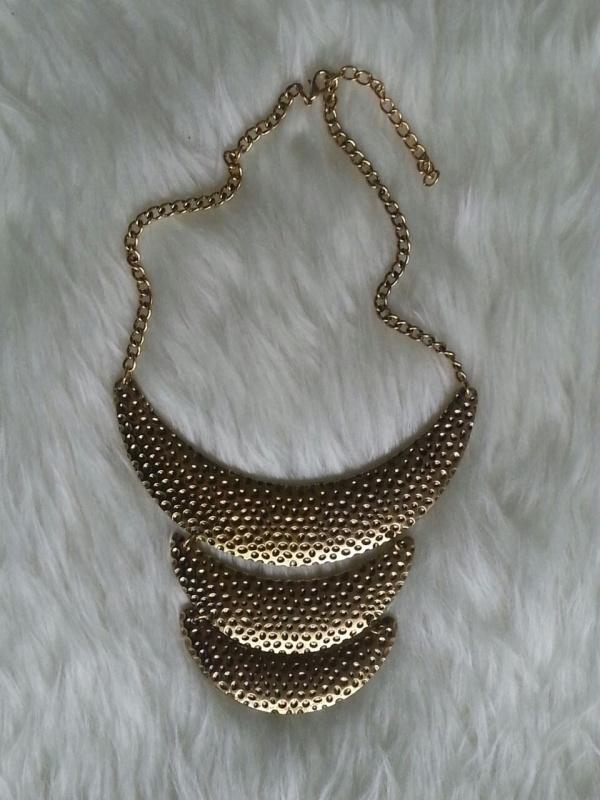 Gold Trio Necklace