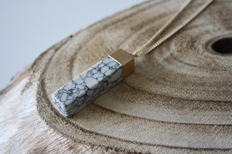 Big Marble Necklace