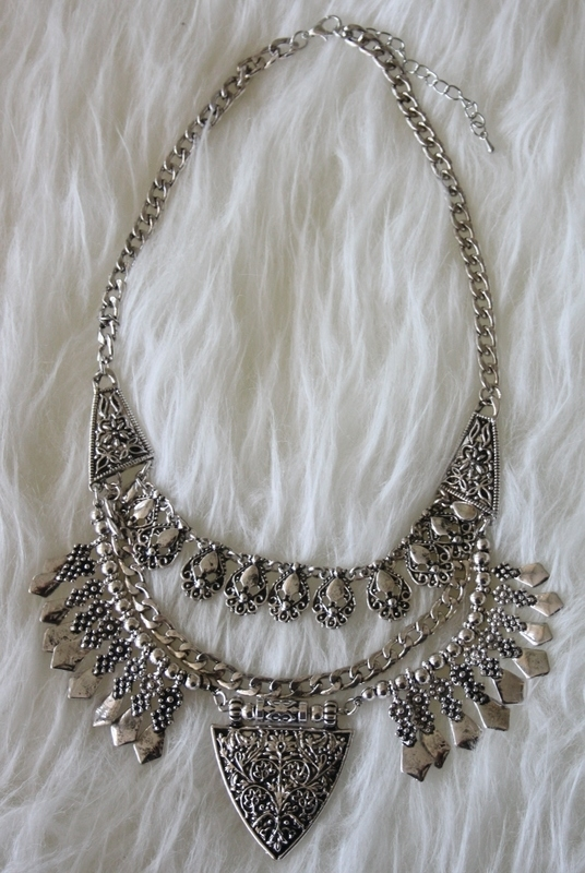 Silver Beauty Necklace