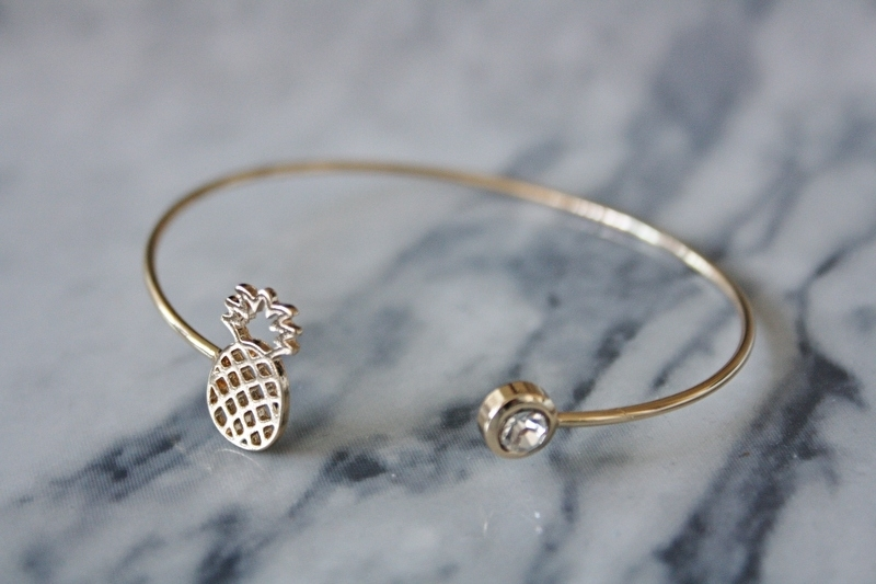 Gold Pineapple Bracelet
