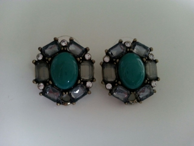 Little Green Earrings