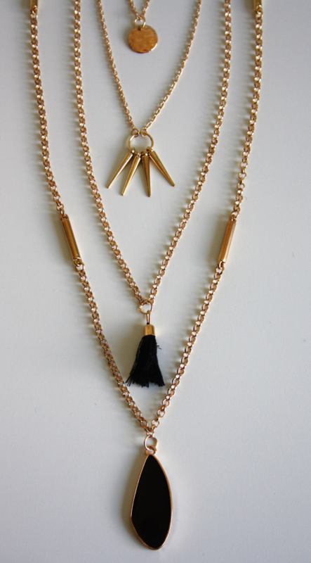 Indian Necklace Gold