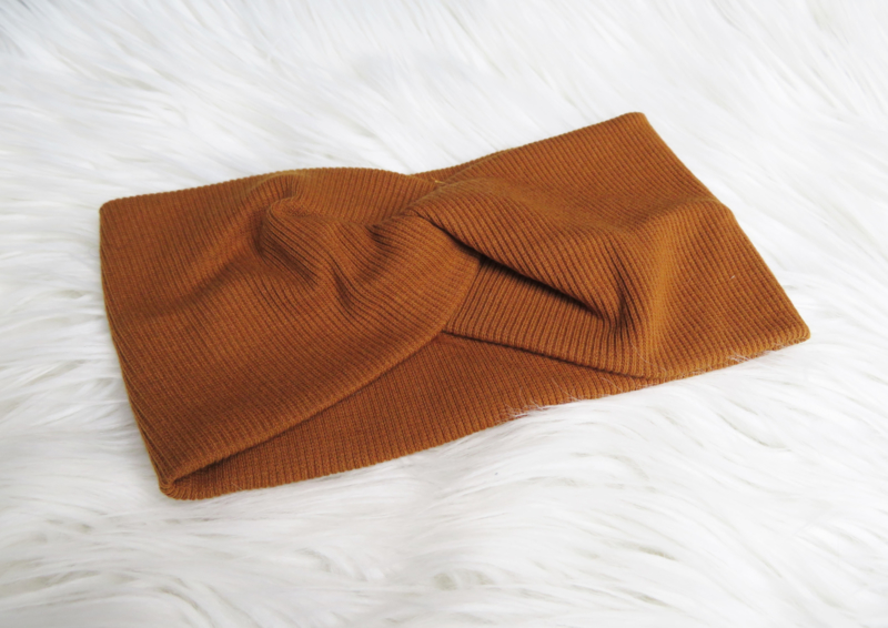 Cognac Hairband