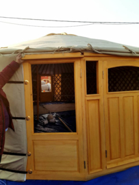 5-muurs Yurt twilight