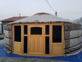5-muurs Yurt twilight