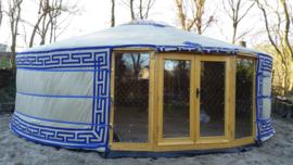 6-muurs Yurt / Ger Type : Sunshine