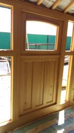 6-muurs Yurt type light met deurpaneel met 5 ramen