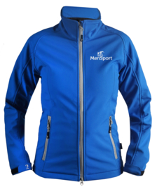 Softshelljas MenSport Dames Royal Blue