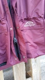 MenSport jas bordeaux rood