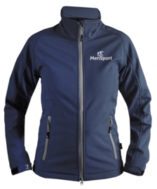 Softshelljas MenSport Dames Blauw