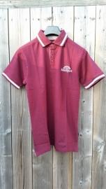 Poloshirt bordeaux rood