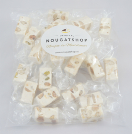 Nougat traditioneel  (zacht)  zakje á 150 gram - past in brievenbus, verzendkosten slechts € 3,80 !*