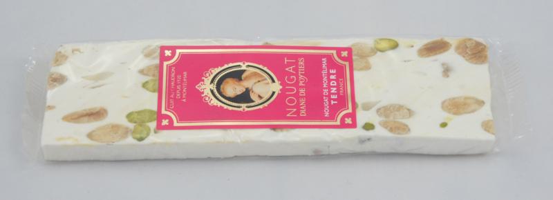 Nougat traditioneel  (zacht)     reep á 100 gram