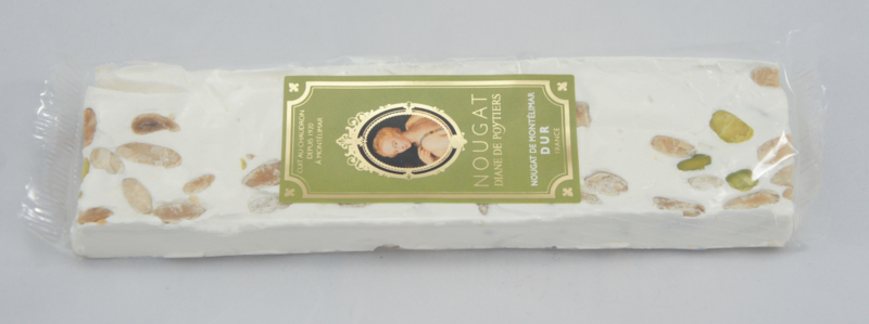 Nougat traditioneel  (hard) reep á 100 gram