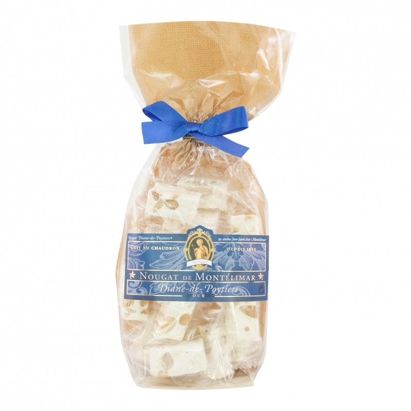 Nougat traditioneel  (hard)     zakje á 200 gram