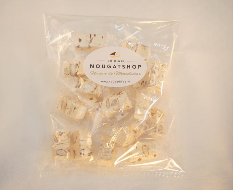 Nougat met caramel & zeezout, zakje á 150 gram - past in brievenbus, verzendkosten slechts € 3,50!