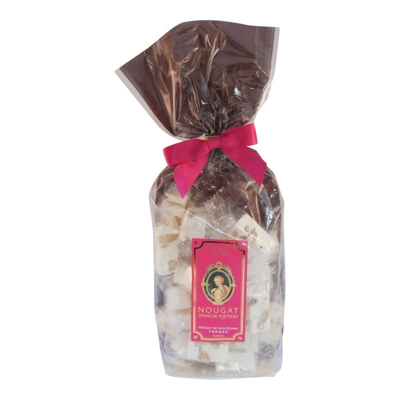 Nougat traditioneel  (zacht)   zakje á 200 gram