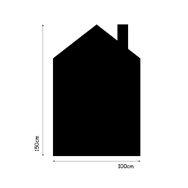 Muursticker huisje XL