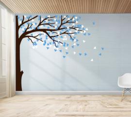 Muursticker boom kinderkamer (kies je eigen kleuren)