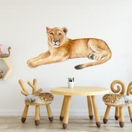 Muursticker leeuwin