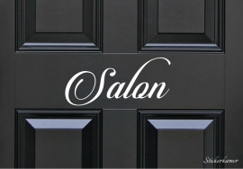 Decoratiesticker salon