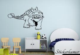 Muursticker dinosaurus (1)