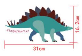 Muurstickers kinderkamer dinosaurus
