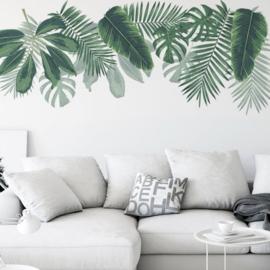 Muurstickers Tropische planten / bladeren