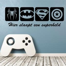 Sticker enfant super-héros