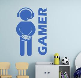 Muursticker gamer jongenskamer kinderkamer