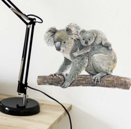 Muursticker koala kinderkamer