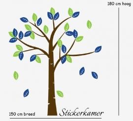 Muursticker boom  XXL (Kies je eigen kleur)