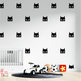 Muursticker batman print / patroon