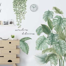 Planten stickers groen botanisch