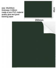 Muursticker Blackboard/krijtbord groen sticker Groot