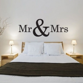 Mursticker Mr & Mrs