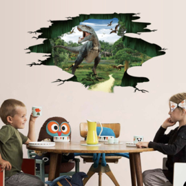 Muurstickers dinosaurus kinderkamer - jongen